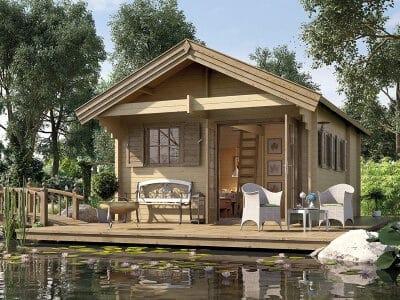 Gartenhaus Weka Holz