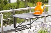 Tisch für kleine Balkone