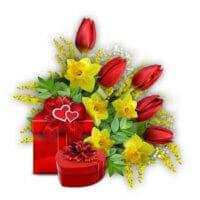 Blumen zum Hochzeitstag